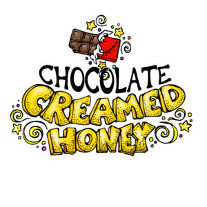 RAW and unfiltered Chocolate Creamed Honey 1.1lb