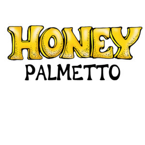 RAW and unfiltered Palmetto Honey 1.1lb