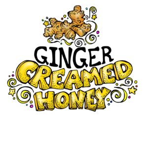 RAW and unfiltered Ginger Creamed Honey 1.1lb