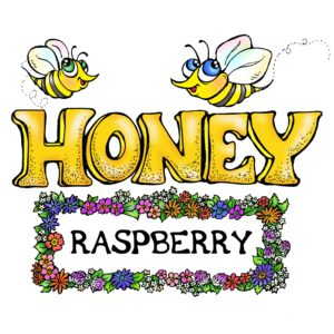 RAW and unfiltered Raspberry Honey 1.1lb